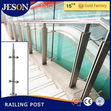 glass stair railing post,banister