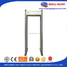 Outdoor use security walk through metal detectors AT-300B with Four LED light