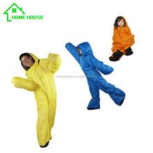 2015 New Poetable indoor and outdoor human body style sleeping bag