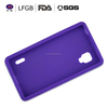 New design Solid color good quality silicone phone case/phone cover