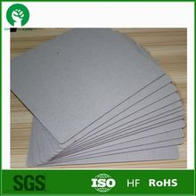 Free sample 2mm Grey Paperboard/Grey cardboard paper