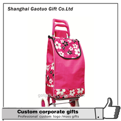 factory price folding shopping trolley bag ,foldable trolley bag