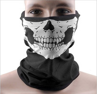 300pcs Skull Design Multi Function Bandana Ski Sport Motorcycle Biker Scarf Face Masks DHL Freeshipping