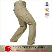 custom design fashionable black khaki mens winter working pants with many pockts