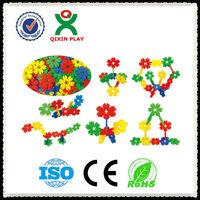 Innotative designed plastic connecting toys/toys for children/plastic blockQX-189C