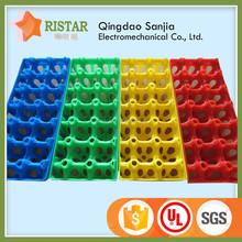 Wholesale New Design Plastic Egg Tray Colorful Egg Trays