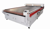 2 year warranty Large Format Auto-feed Laser Cutting Machine for paper and glass bamboo ware