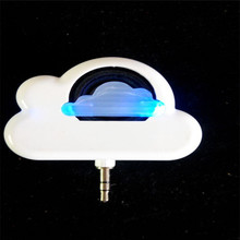 Fashion 5V 2W Portable Cloud Shaped Speaker Mini CloudByte Speaker for your Apple&Android Mobiles