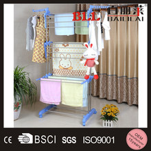 News removable Portable metal hot selling cloth airer rack