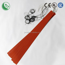 car heater 12v silicone rubber heater heat pad round heat bed 3d printer 400mm