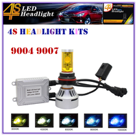 2015 4S 7000LM 9004 9007 LED HEADLIGHT KITS FOR MOTORCYCLES