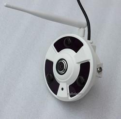 Full View 360 degree fisheye panoramic Wifi 1080P 2MP wireless video surveillance camera
