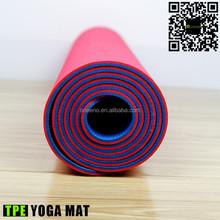ONEENO eco friendly Custom Printed tpe moisture wicking yoga mats/Camping Mats