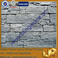 Grey Granite Natural Stone Garden Wall Blocks