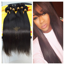 Full weight real indian virgin human hair for sale straight virgin hair weft