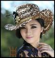 nova moda mulheres extravagantes chapéus igreja atacado