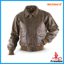 fashion leather bomber pilot jacket brands