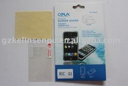 No glue PET Transparent screen protector for Iphone