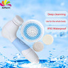 2015 new product 4-in-1 Rotating Electric Facial Body Cleaning Brush