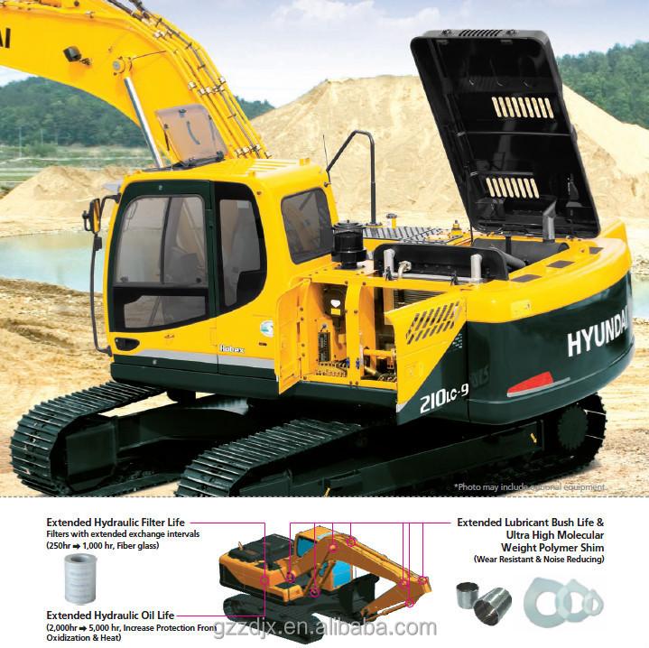 21t Hyundai Crawler excavator for sale R215LC-7C