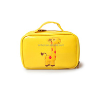 fashion PU leather contents cosmetic bag cases