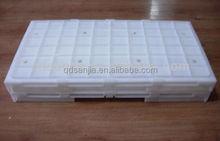 Cajas de almacenamiento de plástico doblado duro estuches de almacenamiento altas cajas de calidad para verduras