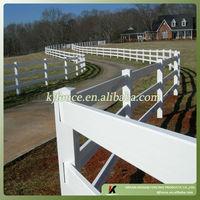 Beautiful designed PVC(Vinyl)Post and rail farm fences