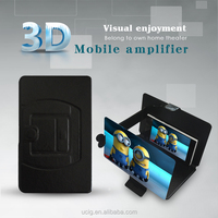 2015 New 3D Amplifier Screen Magnifier Bracket Enlarge Stand for mobile phone