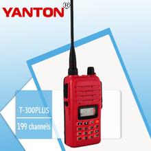 Baratos de seguridad equipos de guardia yanton t-300plus amateur radio vhf/uhf con salida de alta potencia