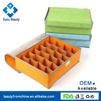 Underwear Storage Box 24-Grid Nonwoven Durable Drawer Organiser
