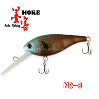 80MM ABS High quality fishing lures plastic shrimp