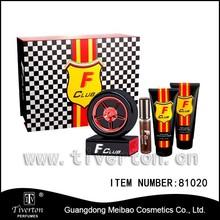 81020 F club Tyre shaped perfume gift set sport, 4pcs perfume set new