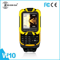 2015 Hot saling! dual sim card cheap watch cell phone made in China