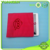 2014 Hot sale new fashion velvet cell phone pouch
