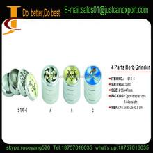 2015 best herb grinder, 4 parts custom herb grinder/4 parts manual herb grinder manufacturer china