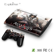Low price hot sale vinyl for ps3 super slim sticker skin