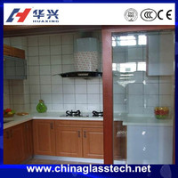 Quality Guaranteed china top brand white upvc profile ce approved sliding glass paintings for kitchen door