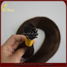 2015 New Products Wholesale Top Quality Fast delivery 100 Keratin Tip Human Hair Extension