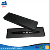 Promotion high quality black cardboard gift box for pens