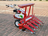 mini tractor combine grainpaddy rice wheat harvester for sale