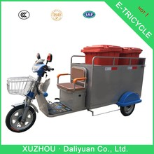 3 wheel electric bicycle 3 wheel moped for garbage transport