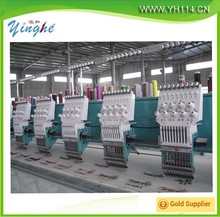 4heads 6 heads 8 heads computer embroidery machine china for cap / t- shirt embroidery