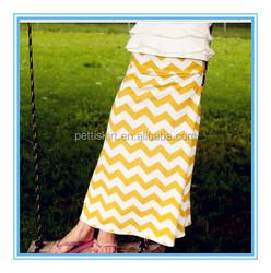 Baby Products Girls Skirts Kids Casual Chevron Skirts Pattern Long Skirts