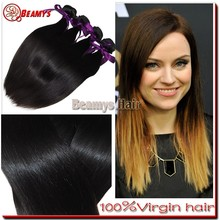 Remy good quality unprocessed hair, full cuticle virgin very cheap hair extensions