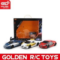 Newest 1:16 4-ch rc magic toy car model with charger and 3 color