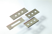 TST tungsten carbide 3-holes cutting blade for film cutting