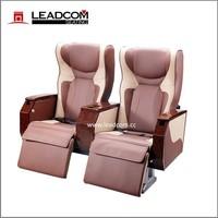Leadcom luxury leather vip coach seats for sale CK31