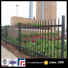 beautiful corrugated steel fence, square steel fence posts