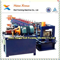 hebei xinnuo Galvanized Steel Roof Truss Purlin Cold Roll Forming Machine CE