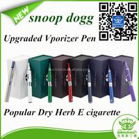 New arrival e cigarette snoop dogg vaporizer pen herbal vaporizer snoop dogg